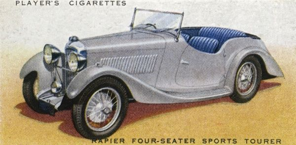 Napier four-seater sports tourer derived from a Lagonda model. Date: 1936