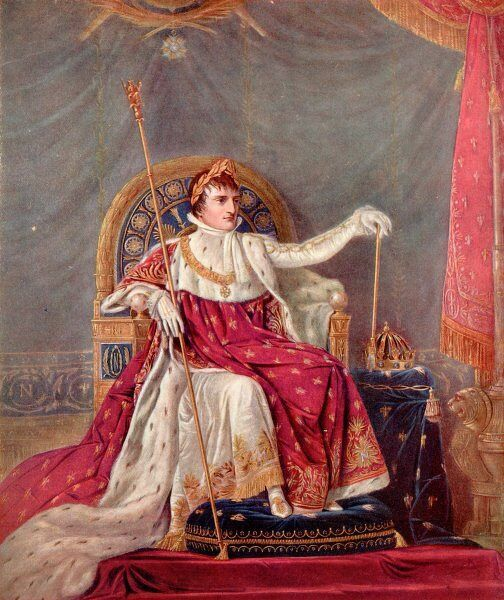 NAPOLEON BONAPARTE I Napoleon as Emperor in 1805