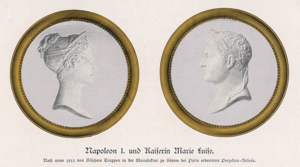 NAPOLEON I and MARIE LOUISE