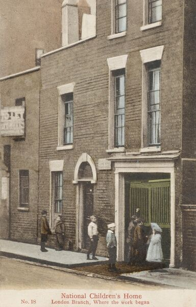 The National Children's Home (NCH) - London Branch. Founded in July 1869 in a disused Stable in Church Street, Lambeth by Thomas Stephenson, the charity is now known as the NCH 'The Children's Charity' - a Methodist Charity