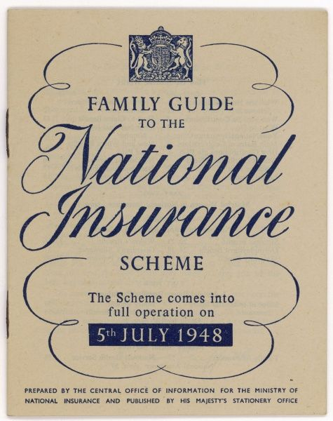 The beginning of the Welfare State : a booklet issued by the Ministry of National Insurance, explaining the benefits of the scheme which gives us all sickness benefits