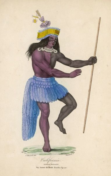 A native of California engaged in dancing