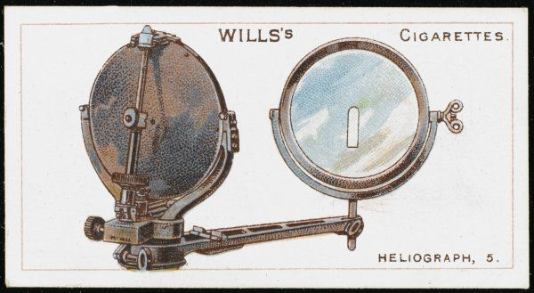 The 'works' of the type of heliograph used by the Royal Navy