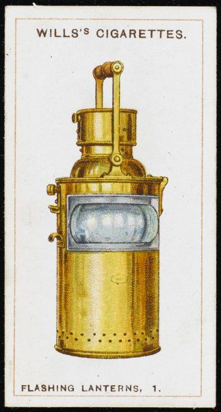 A type of flashing lantern used by the Royal Navy