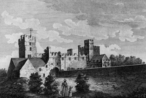 Naworth Castle, Cumbria (2 of 2) Date: circa 1770