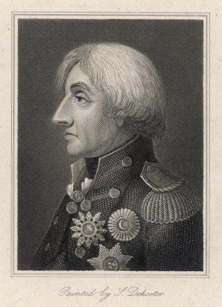 HORATIO, LORD NELSON in profile