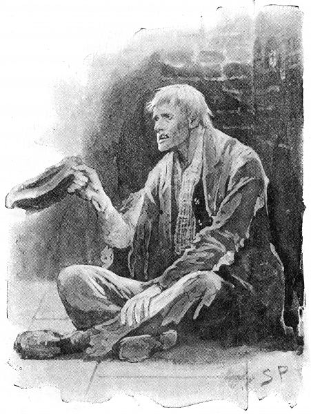 THE MAN WITH THE TWISTED LIP Neville St. Claire as a beggar. Date: First published: 1891