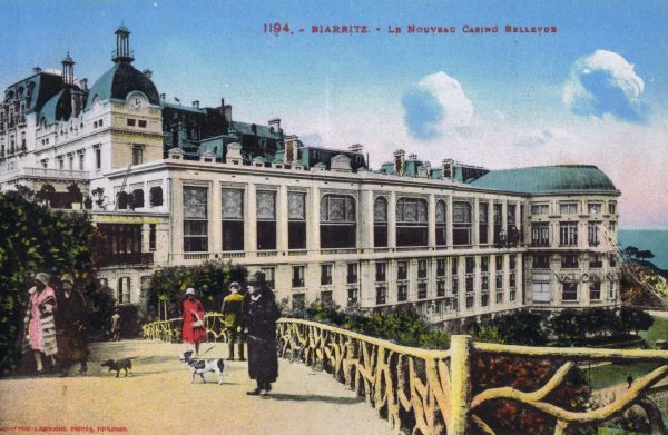 The New Casino Bellevue at Bairritz, France Date: 1920s