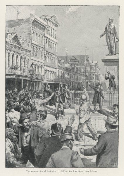 Riots in New Orleans, against the treatment of the South by the Federal government, lead to violence and intervention by the President