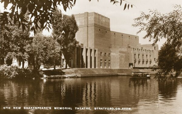 In 1932 the New Shakespeare Memorial Theatre, designed by Elisabeth Scott, was opened by The Prince of Wales on 23rd April, Shakespeare's birthday, in Statford-upon-Avon