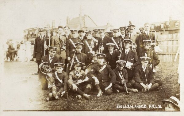 Newfoundland - Bell Island - Local Brass Band Date: 1921