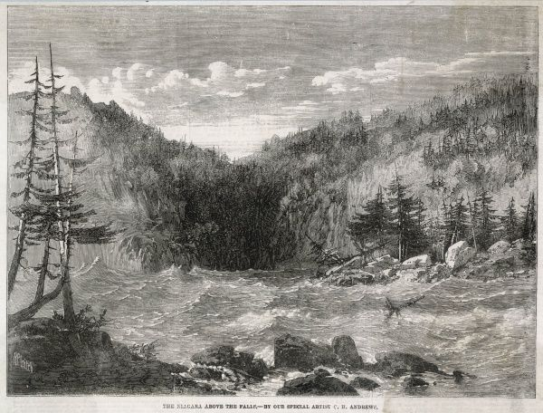 The rapids and consequential damage to the surrounding forests