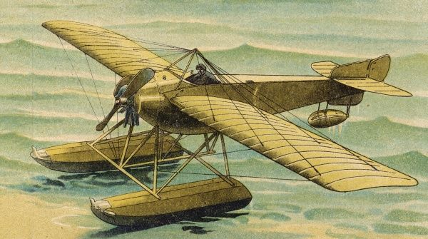 An early type of French seaplane from the company who later created a series of very successful military aircraft