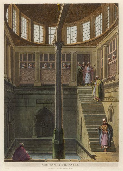 The Nilometer at Cairo