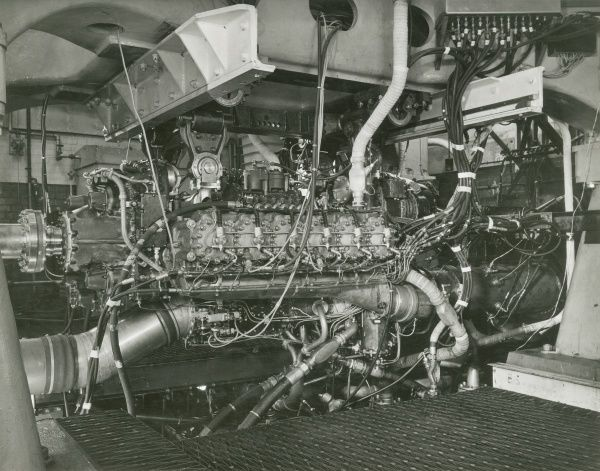 Nomad II engine under development at the Park Royal Development Test Houses Date
