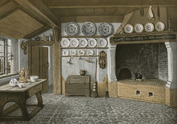 A kitchen in Nord Friesland, Germany