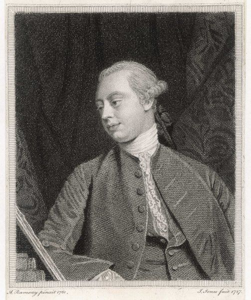 FREDERICK, LORD NORTH. Earl of Guildford. Statesman