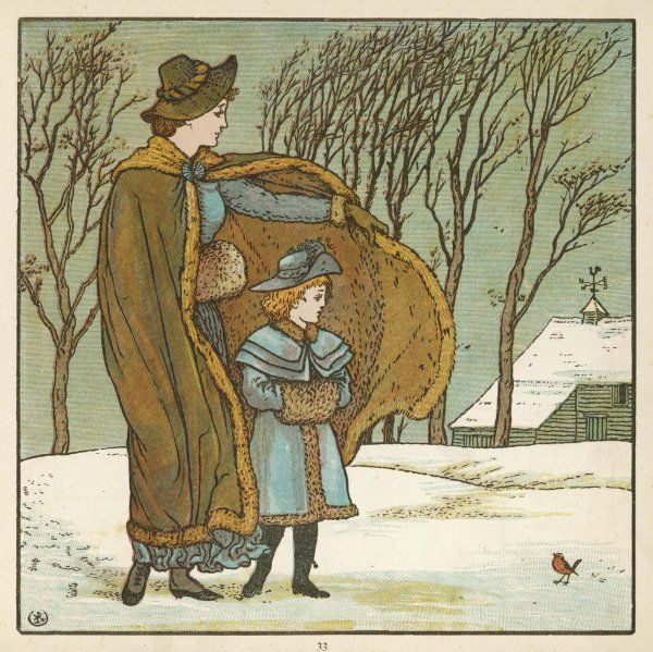 'The North Wind doth blow, and we shall have snow, and what will poor Robin do then, poor thing ?&#39