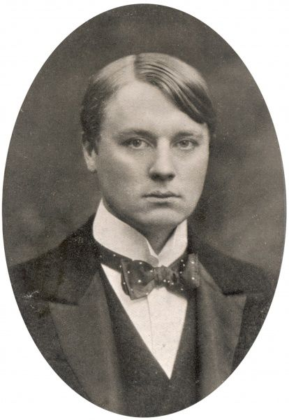ALFRED HARMSWORTH, lord NORTHCLIFFE newspaper proprietor, as a young man