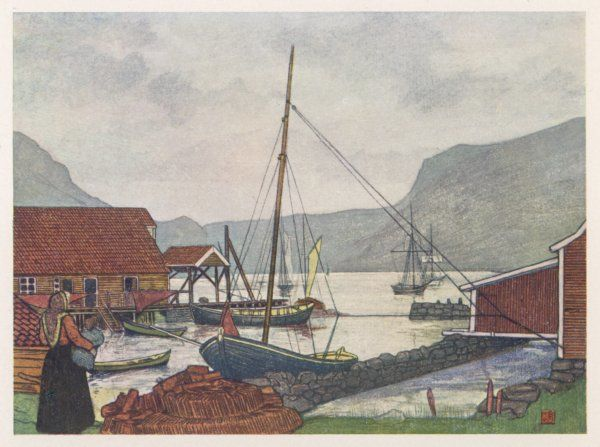 Moldoen: the harbour