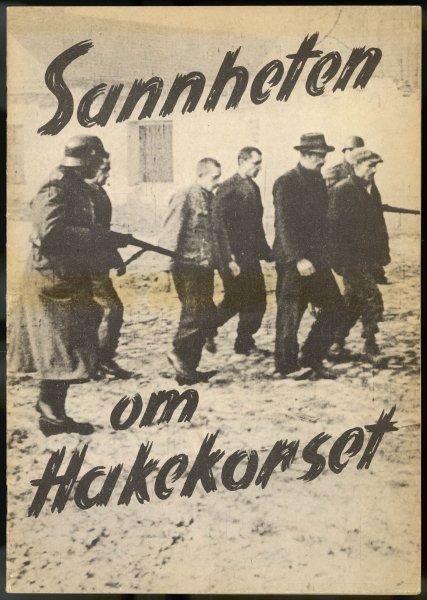 Norway : dissident males are rounded up by the German occupation forces