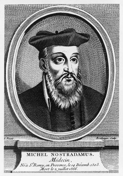 Michel de Nostredame, French apothecary and prophet