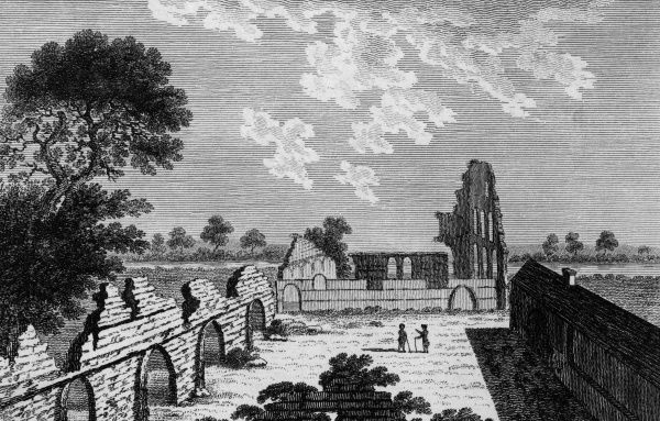 The ruins of Nutley Abbey, in Buckinghamshire Date: circa 1770