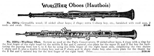 The Oboe, originally known by its French name, Hautbois
