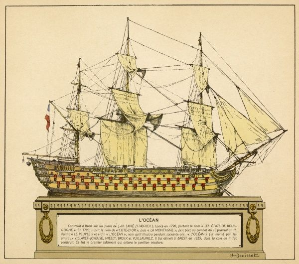 French warship, she will still be in service in 1837