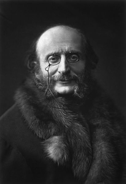 JACQUES OFFENBACH German-French musician Date: 1819 - 1880