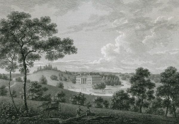 Distant view of Olantigh, Kent, the seat of John Sawbridge esquire Date: 1786