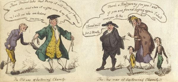 Bestowing charity; old and new ways Date: 1830