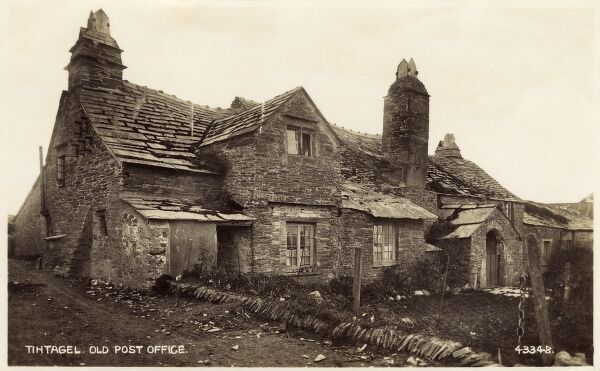 The Old Post Office - Tintagel, Cornwall Date: early 1940s