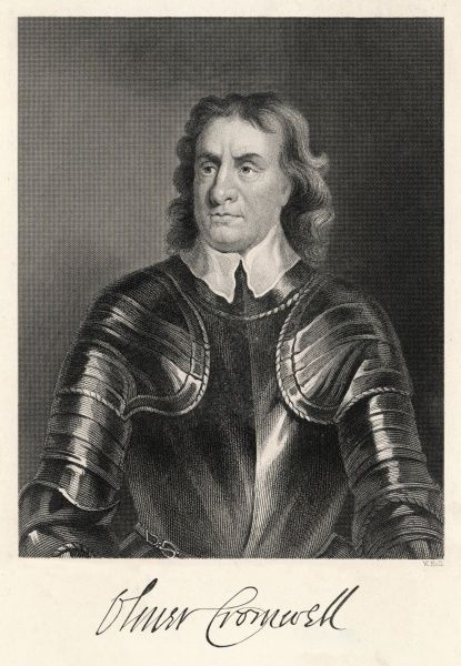 OLIVER CROMWELL English soldier and statesman