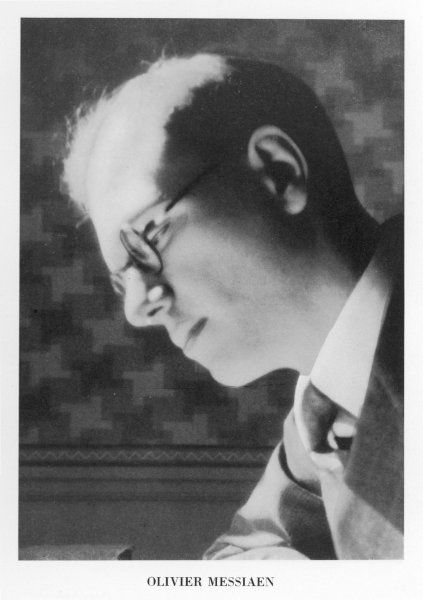 OLIVIER MESSIAEN French musician