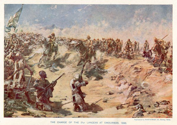 OMDURMAN The charge of the 21st Lancers