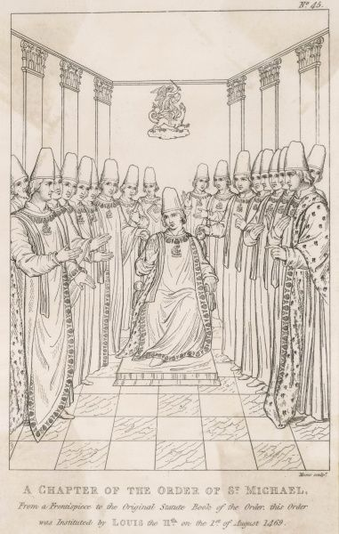 Louis XI institutes the Ordre de Saint-Michel