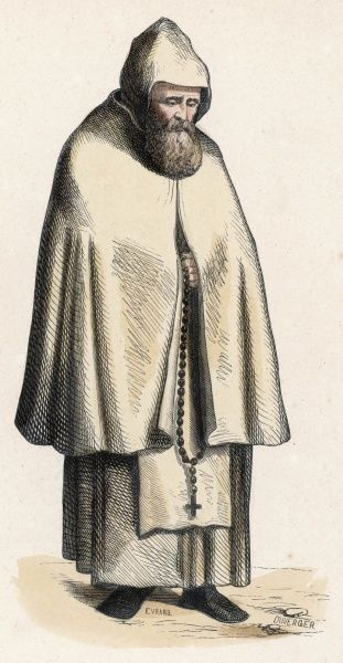 A monk of the ORDER OF VALLOMBROSA (Italian)