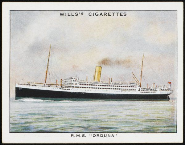 Passenger liner of the Pacific Steam Navigation company