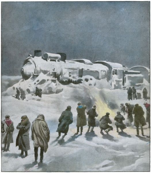 The prestigious Orient Express, full of spies, smugglers and femmes fatales, is halted by snow on the Hungary-Romania border