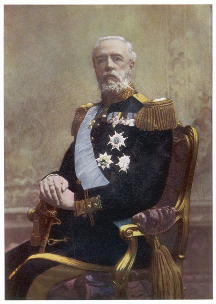 OSCAR II King of Sweden (1872-1907) and of Norway (1872-1905)