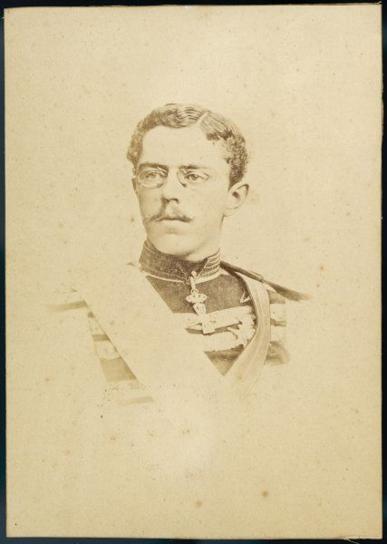 OSCAR II King of Sweden (1872-1907) and of Norway (1872-1905) - seen here as Prince Oscar