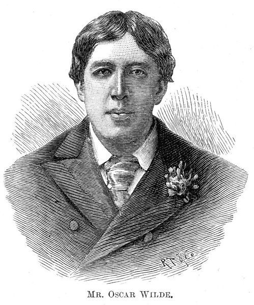 OSCAR WILDE - Irish playwright, author and celebrity