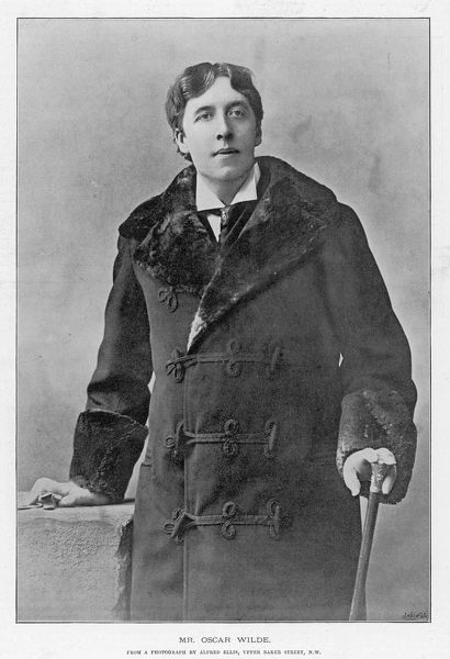 OSCAR WILDE - Irish writer and playwright