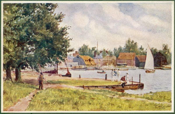 Oulton Broad, near Lowestoft, Suffolk