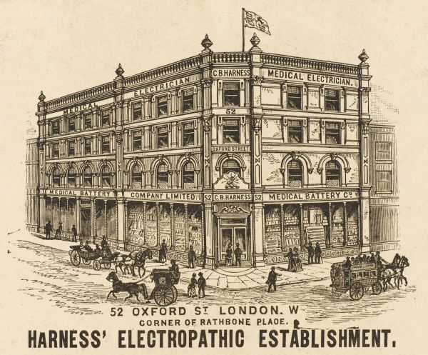 Harness' Electropathic Establishment at 52 Oxford Street, London