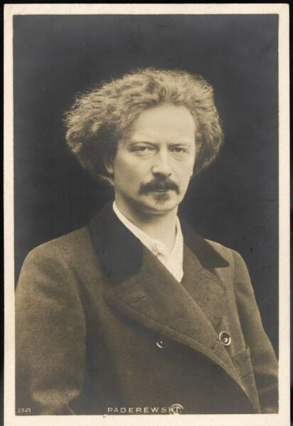 IGNACY JAN PADEREWSKI Polish pianist, composer and statesman