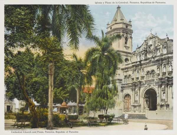 Panama City: Cathedral and main square
