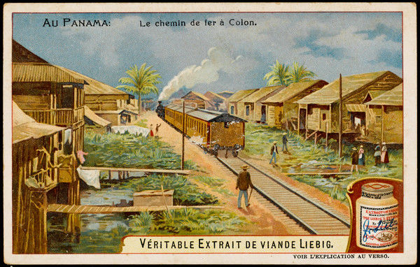 The railway station at Colon