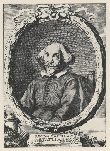 PAOLO ZACCHIAS Italian medical at the age of 66 Date: 1584 - 1659